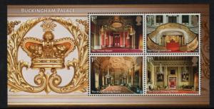 Great Britain Sc 3285 2014 Buckingham Palace stamp sheet mint NH