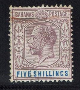 Bahamas SG# 124 - Used - Lot 021216