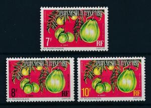 [71673] French Polynesia 1977 Fruit Plums Service Stamps From Set MNH