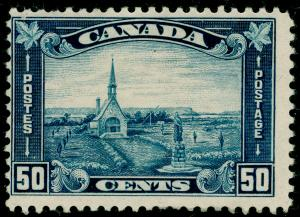 CANADA SG302, 50c Blue, M MINT. Cat £90.