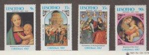 Lesotho Scott #601-604 Stamps - Mint NH Set