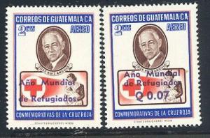 Guatemala 1960 World Refugee set Year Sc# C235-42 NH