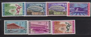 UMM AL QIWAIN SET OF STAMPS MNH  LOT#458