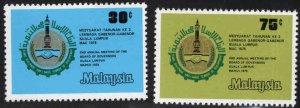Malaysia Scott 160-161 MNH** set
