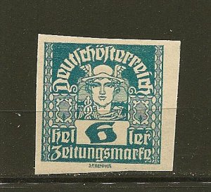 Austria P32 Issues of Monarchy Mint Hinged