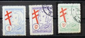 Yugoslavia Croatia Serbia Nice Selection-Early Better Poster Charity Stamps  C11