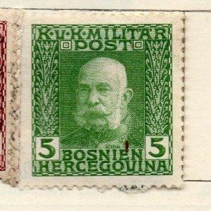 Bosnia Herzegovina 1912 Early Issue Fine Mint Hinged 5h. NW-113579