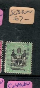 BRITISH CENTRAL AFRICA  (PP0406B)  ARMS  2D   SG 33      VFU