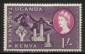 Kenya, Uganda & Tanzania 1960 Scott# 129 MH