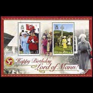 ISLE OF MAN 2006 - Scott# 1143 S/S Queen Birthday NH