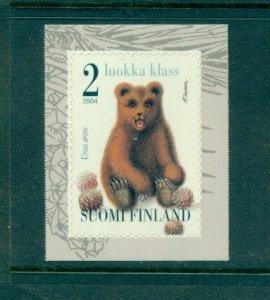 Finland - Sc# 1207. 2004 Bear. MNH. $2.25.
