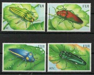 Fiji 2000 insects set of 4v MNH