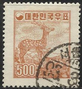 Korea 1957 Scott# 261 Used