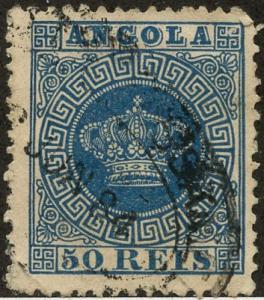 Angola, Scott #15, Used