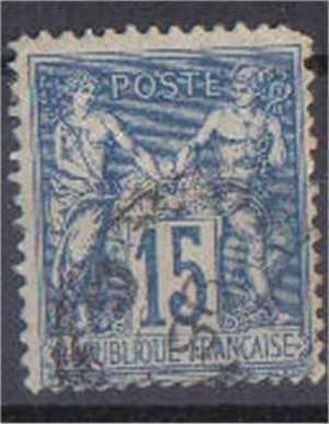 FRANCE, Sage Type II, 1877, used 15c, SG92