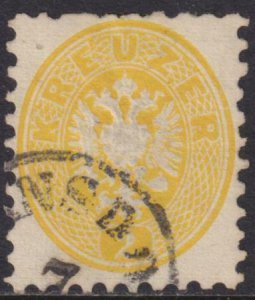 Austria 1863 SC 17 Used