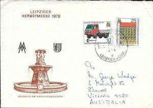 CLB198) Nice W. Germany 1978 Cover Multicar 25, Fair House 3 Kings Peter Street