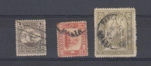 Malta QV 1899 4 1/2d 5d 2s 6d SG32/33/34 Fine Used J6755