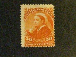 Canada #46 unused no gum a1910.9675