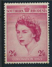 Southern Rhodesia  SG 77  Mint Hinged