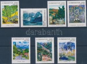 Uzbekistan stamp Paintings set MNH 2006 Mi 585-591 WS202340