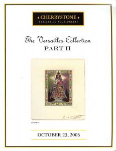 Cherrystone:    The Versailles Collection, Part II, Cherr...