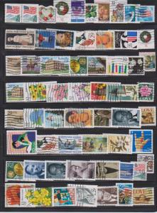 LOT OF DIFFERENT STAMPS OF USA USED (60) LOT#US617