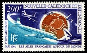 New Caledonia 1970 Scott #C72 Mint Never Hinged