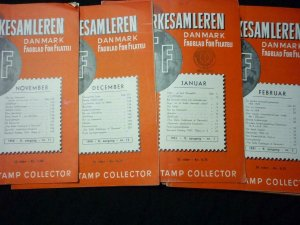 16 FRIMAERKERSAMLEREN DANMARK FAGBLAD FOR FILATELI - THE DANISH STAMP COLLECTOR