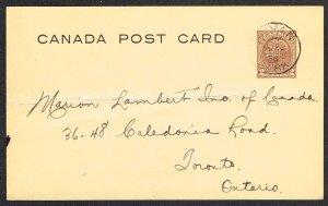 Canada Unitrade Postal Card UX65a