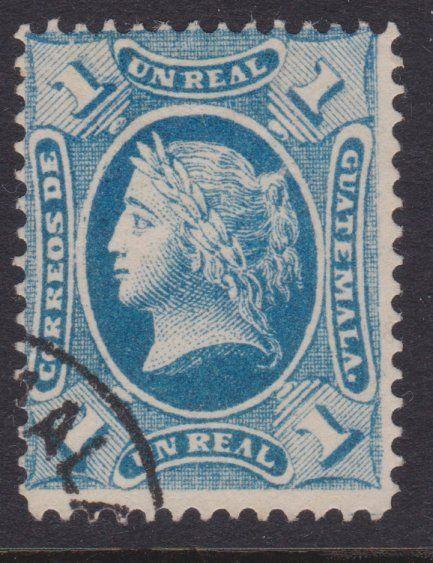 GUATEMALA  An old forgery of a classic stamp................................4877