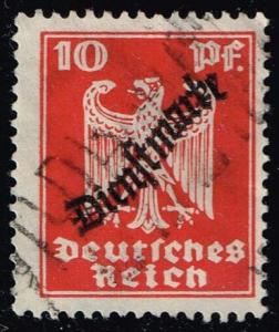 Germany #O55 Official - Eagle; Used (0.75)