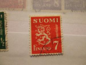 Finland #260 used (reference 1/9/9/8)