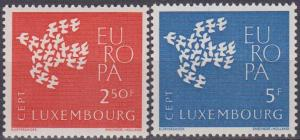Luxembourg #382-3 MNH VF  (ST1346)