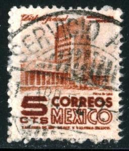 MEXICO #857 - USED - 1950 - MEXICO0032