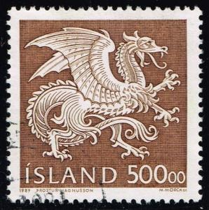 Iceland #677 Dragon; used (8.50)