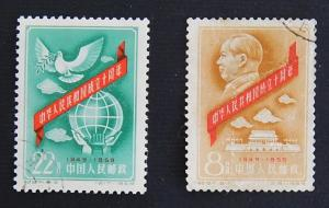 China, 1959, №(6)-16(1-2IR)