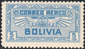 Bolivia  #C36 MNH