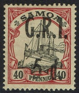 SAMOA 1914 GRI YACHT 5D ON 40PF