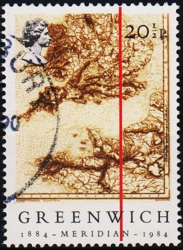 Great Britain.1984 20 1/2p S.G.1255 Fine Used