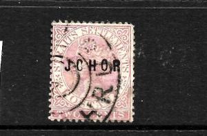 JOHORE 1884-91    2c    QV   FU   SG11