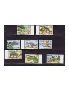 Kiribati - Prehistoric Animals 8 Stamp Set  11P-003