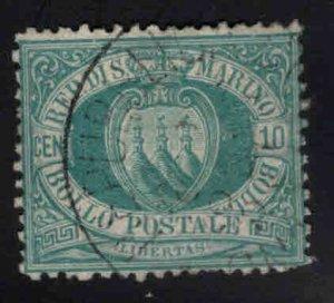 San Marino Scott 8 Used 1892 stamp