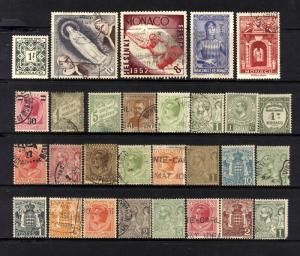 Monaco Valuable Vintage collection Lot - USED