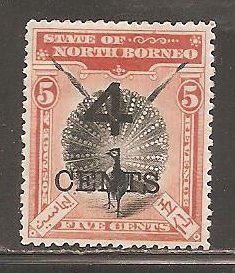 North Borneo  SC  91  Mint  Hinged