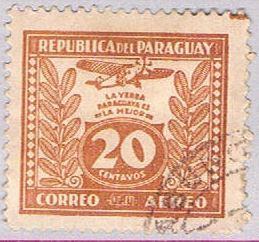 Paraguay C67 Used Yerba Mate 1931 (BP30812)