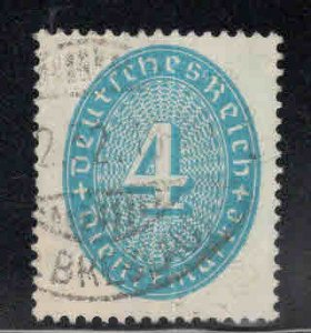 Germany  Scott o63 Used 1931 official stamp