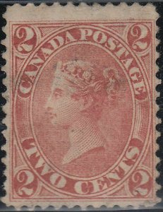 CANADA 20 Used FVF Lite Ccl. (42820)