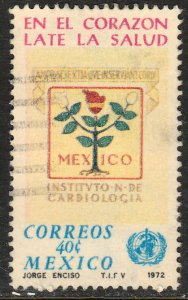 MEXICO 1038, World Health Day. USED. F-VF. (1282)
