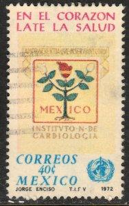 MEXICO 1038, World Health Day. USED. F-VF. (1282)